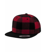 Checked Flanell Snapback