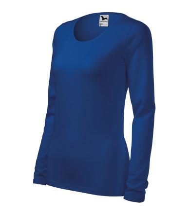 95eb4089db46 ADLER CZECH Triko dámske Slim vyššej gramáže s dlhým rukávem 139 -  kráľovská modrá z kolekcie MALFINI